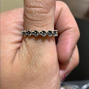 Pandora flower ring size 56